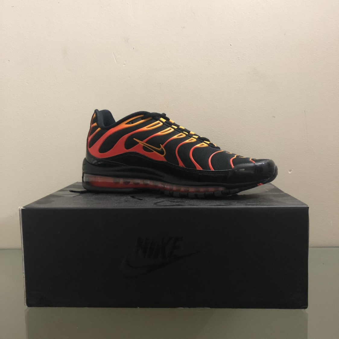info for 0b8b4 72cf4 *Nike Air Max 97 Plus Shock Orange* Remember the... - Depop