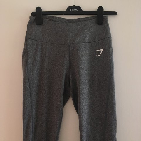 e0d0e1a968a65 @katiejarvis94. 2 years ago. Woking, United Kingdom. Gymshark Dry Sculpture  Leggings Charcoal Marl Size M