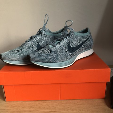 huge selection of d22a8 e4a4b  henryhodgso. 5 months ago. Brentwood, United Kingdom. Nike Flyknit Racer  Blueberry