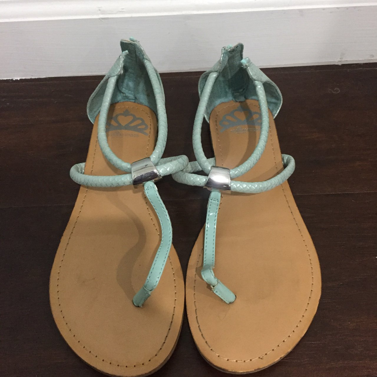 c056c3671997 Blue Fergalicious Sandals only worn