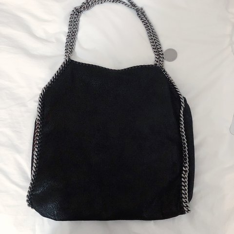 ef9e2d0f42873 @emvera. last year. New York, United States. Stella McCartney - Used less  than a handful of times! Classic big Falabella tote in shaggy deer fabric  ...