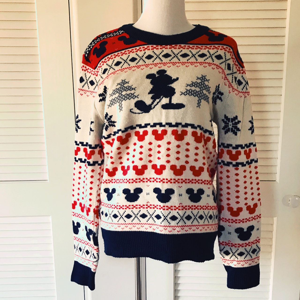 Urban Outfitters Ugly Christmas Sweater.Super Fun Mickey Mouse Ugly Christmas Sweater Junk