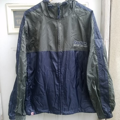 8490e65ec6fe Champs Light weight jacket. Can be turned into a portable 6 - Depop