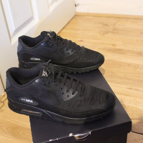 2935ee9dbc @sneakers_styles. 4 months ago. London, United Kingdom. Nike Air Max 90  Premium Tape Black Men's Size UK 7 EU 41 US 8