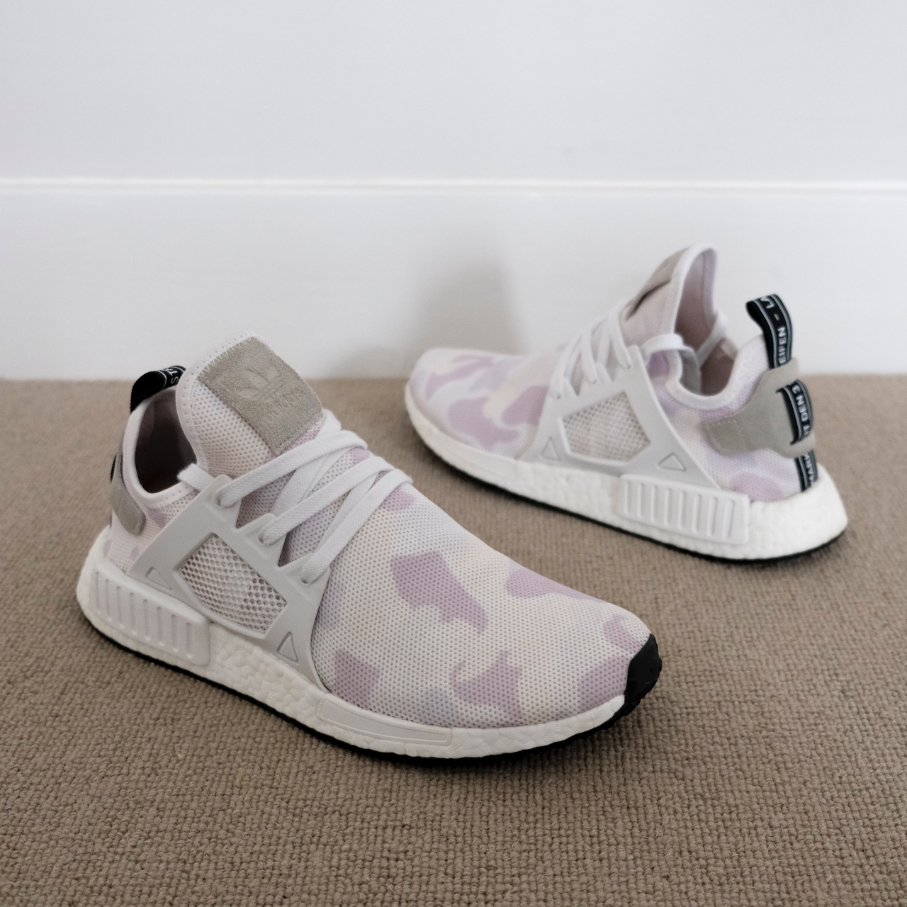 timeless design 9b8d7 40768 Adidas NMD XR1 white camo. Used but still have... - Depop