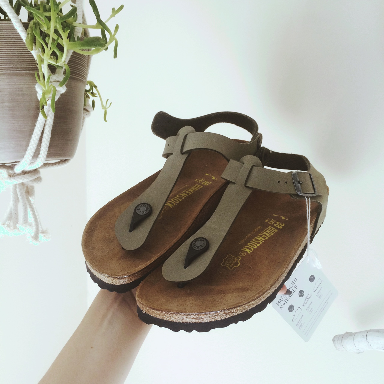 BIRKENSTOCK kairo style PERFECT CONDITION with tag