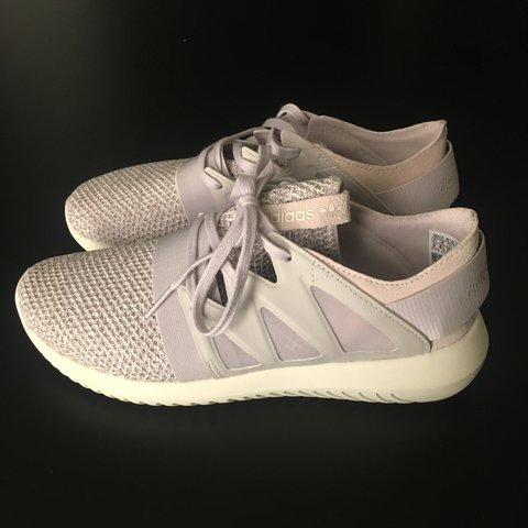 best sneakers 5371a f8b47 👀👀price lowered!!!!!👀👀 Adidas Tubular Viral Ice Purple. - Depop
