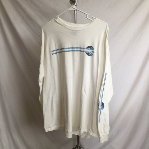 a5bbd33c Vintage 90s Mossimo Made in the USA limited graphic long . a - Depop