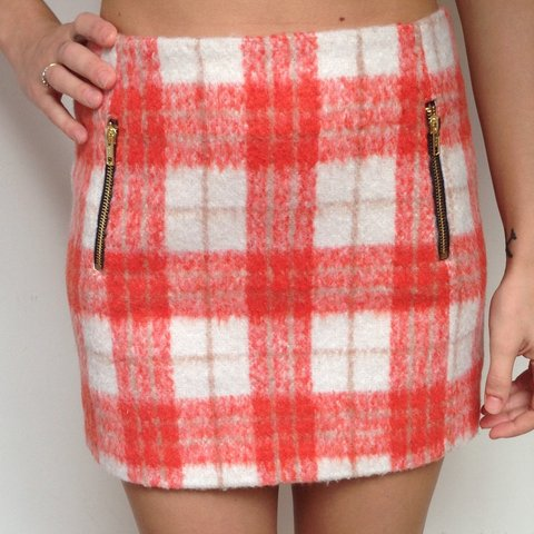 8533c68ed Cute topshop skirt size 8. Worn a couple of times so it is - Depop