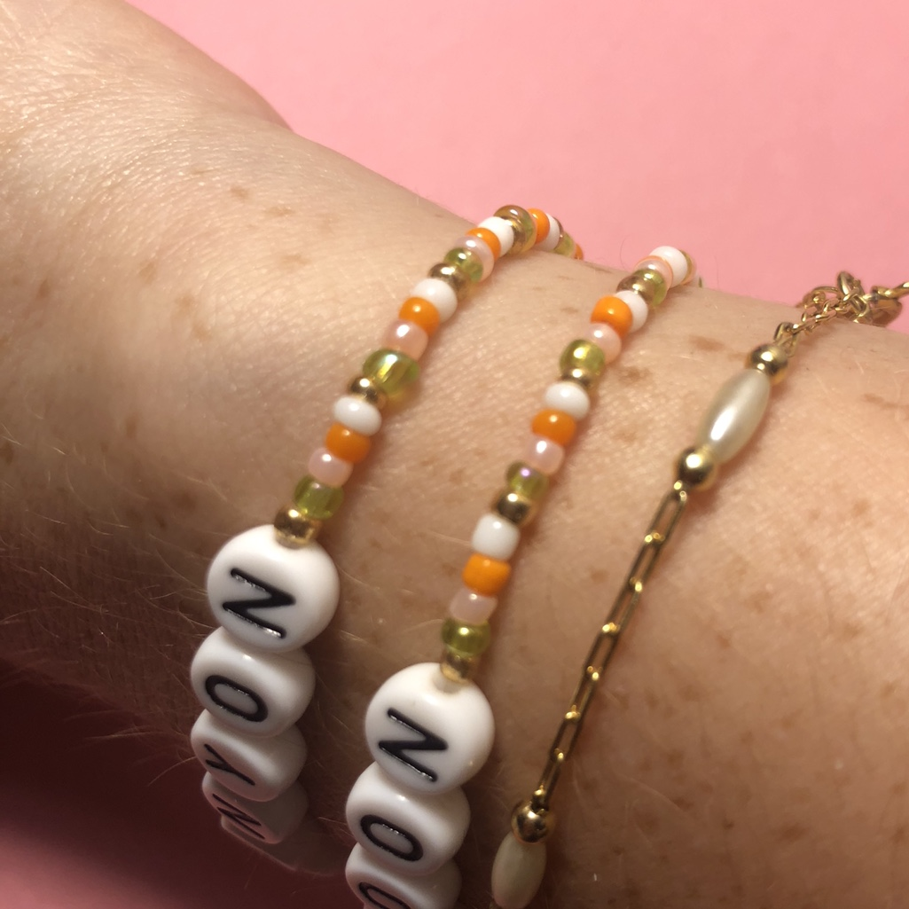 harry styles canyon moon bracelet and earring matching set
