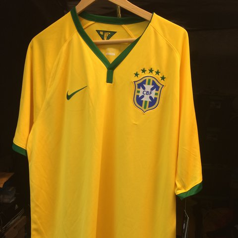 2a465075a @picounionbishop. 11 months ago. Los Angeles, United States. Nike size XL  Brazil national team soccer jersey.