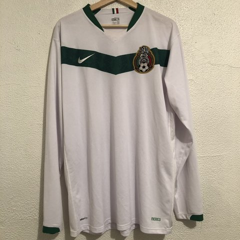befb839c376 White nike brand Mexican national soccer team jersey. Size - Depop