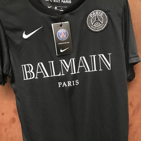 3b247d356c9 @momar1994. 10 months ago. London, United Kingdom. PSG X BALMAIN Neymar 10  shirt ...