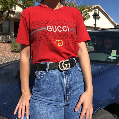 022cf8c57d5 Vintage Gucci top Authentic Made in Italy on tag It - Depop