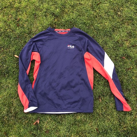 82c6cf4b03f1 Fila sport top ⭐ Size  XL kids can fit a womens M best  ) - Depop