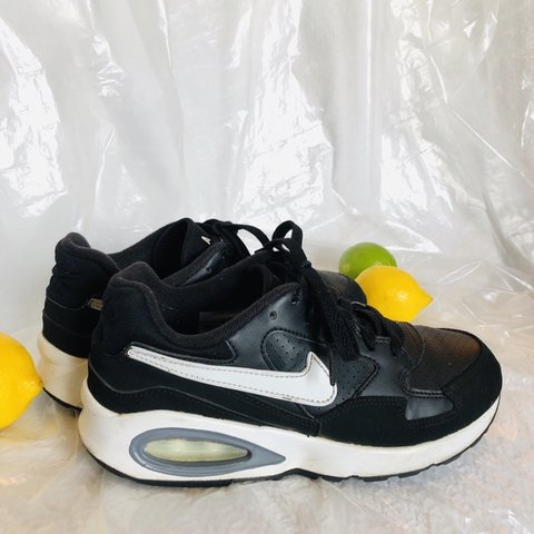 245d92643f32 Selling these Nike Air black and white running shoes! These - Depop