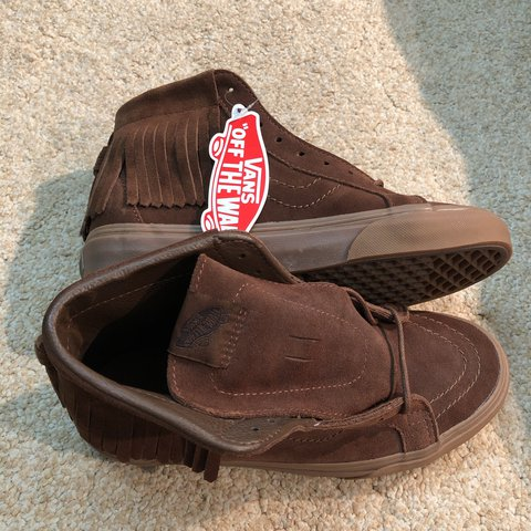 974a7d14ad1a Brand new with tags! Vans SK8 Hi. Moccasins. Brown