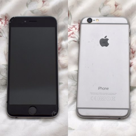 size 40 361c2 45858 Iphone 6 64gb space grey / black • perfect working... - Depop