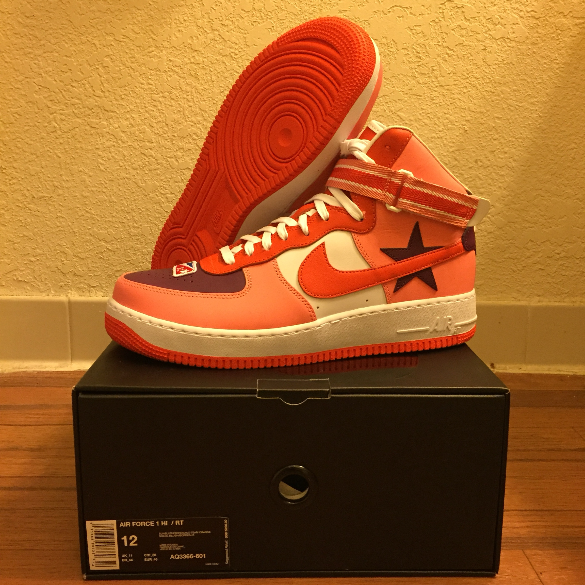 nike air force 1 high x rt icarus