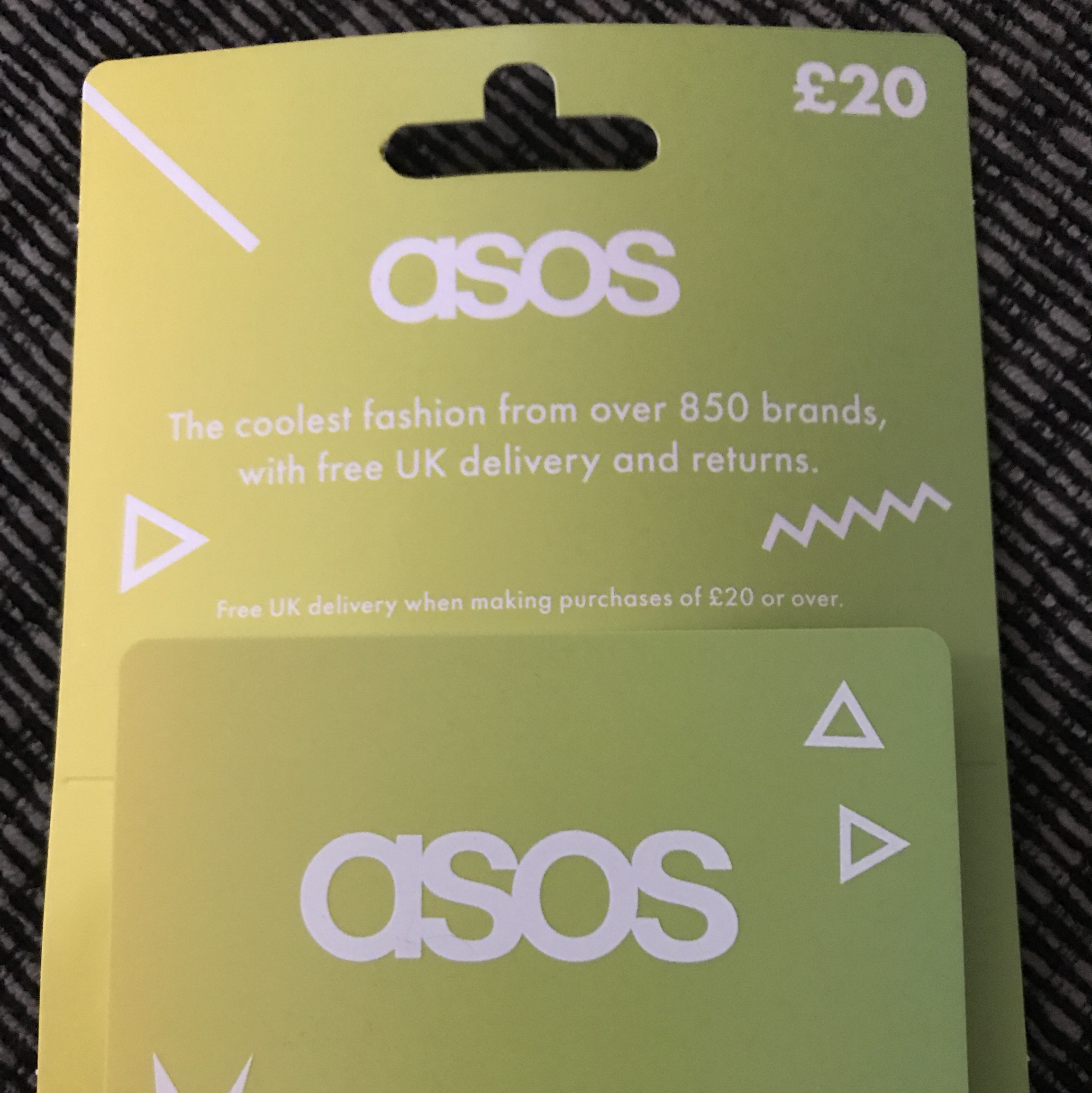 20 Asos Gift Card Will Message You The Code When Depop