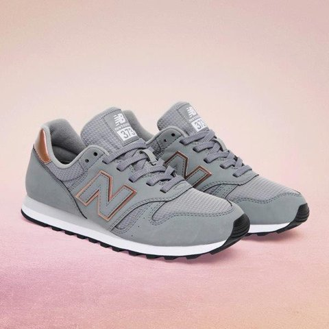 e0af1035b109 Grey and Rose gold New balance. Worn a couple of times but - Depop