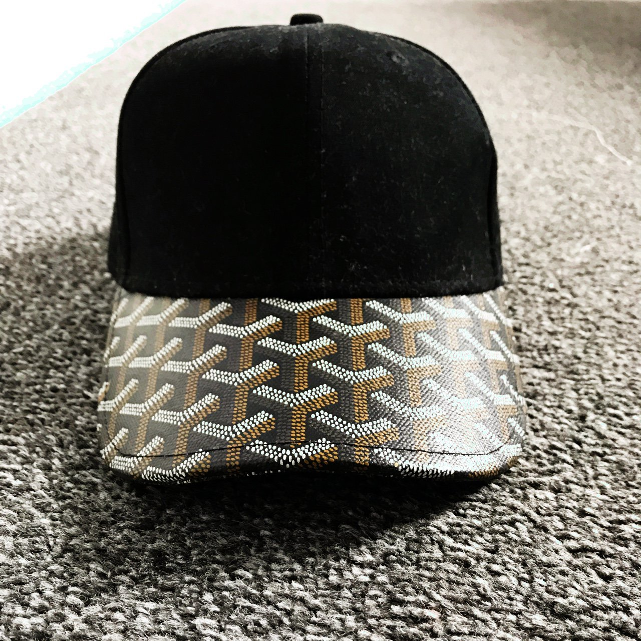 GOYARD print baseball cap Rare and in very good condition! - Depop 11acb30f57d