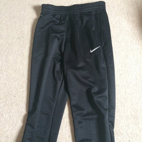 23bd492f8 •Black Nike Academy Tracksuit bottoms/joggers, • Worn only - Depop
