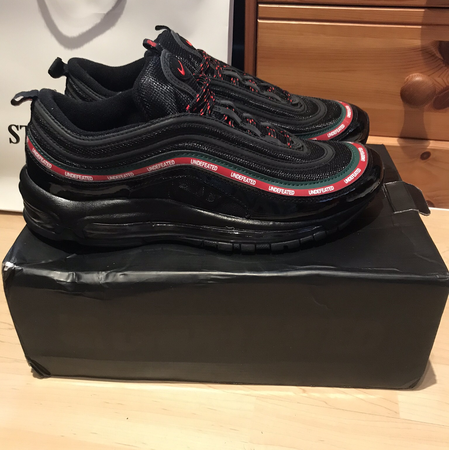 Nike Air Max 97 X undefeated dead stock. Brand new Depop