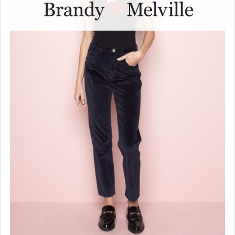 3cb71c4b104e18 @laurenweare. last year. Manchester, United Kingdom. Selling these brandy  melville corduroy trousers ...