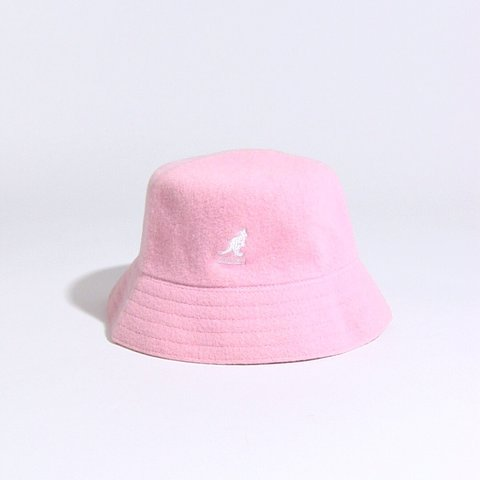 61acd4bfdebab discount for  younotfatma ! ✨ Light pink y2k Kangol bucket - Depop