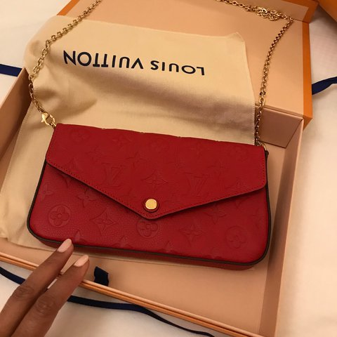 127387bd9 authentic Louis Vuitton Pochette Félicie !! It's a crossbody - Depop