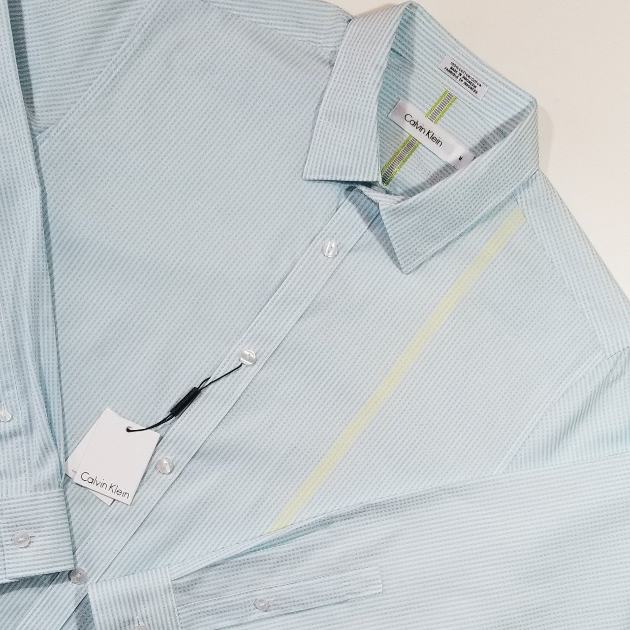 9e279c1304 NWT Calvin Klein Button Down Shirt  Brand new with blue with - Depop
