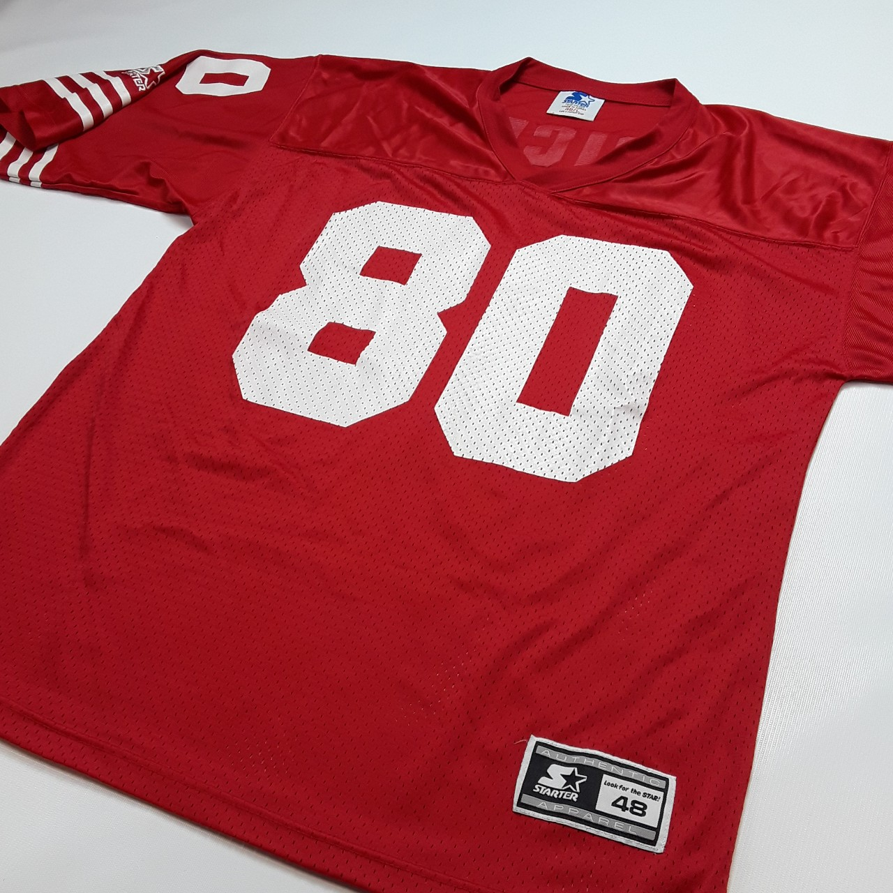 huge selection of 9e8fa 44df0 Vintage Jerry Rice Starter Jersey. San Francisco... - Depop