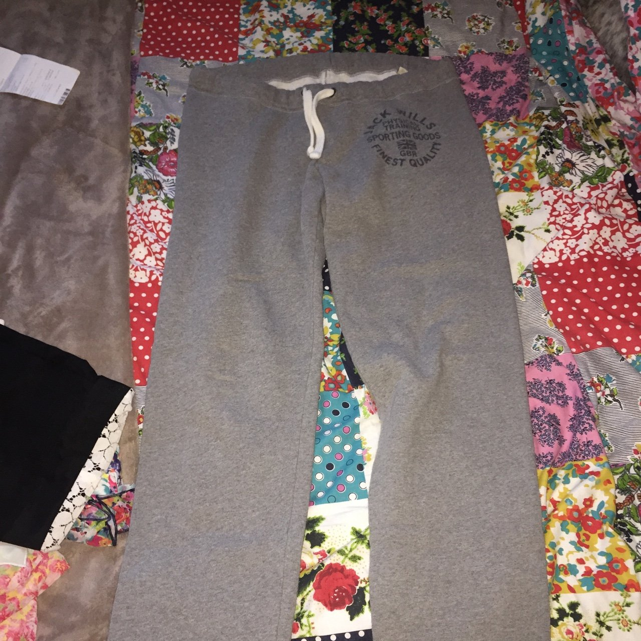 fbd1815440 Jack Wills track suit bottoms would easily fit a size 10 - Depop