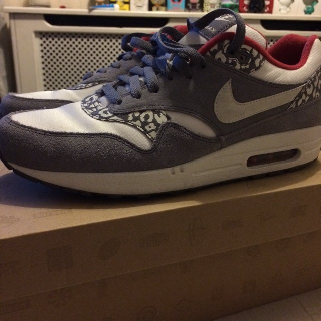 the latest 62602 c8c9c Nike Air Max 1 - Snow Leopard (Size 9.5) These have been in - Depop