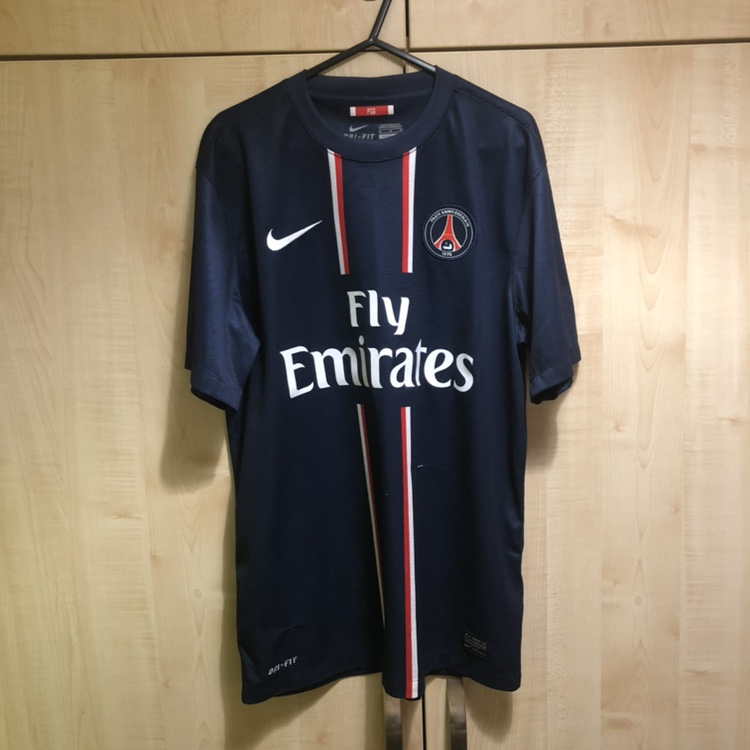 new product 2d393 26342 PSG (Paris Saint-Germain) Nike home shirt 2012/13... - Depop