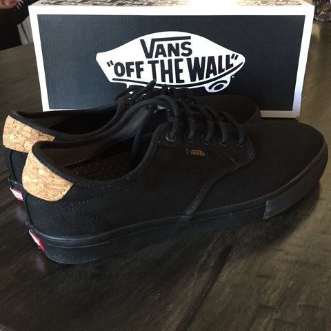 c6e48df59de3c8 VANS Chima Ferguson Pro shoe. All black with cork details. I - Depop