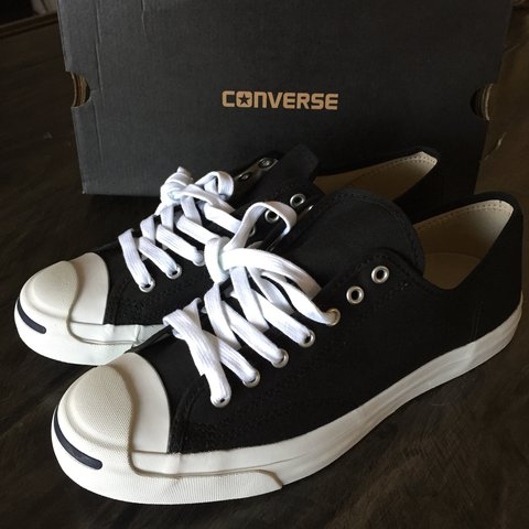 20ad08263e76 CONVERSE Jack Purcell CP canvas low. Brand new and never   - Depop