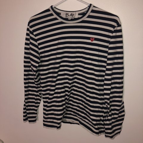 a1ae0789b4f6c5 @lilchinababy. 4 months ago. Calgary, Canada. Comme des Garçons Play navy striped  longsleeve ...