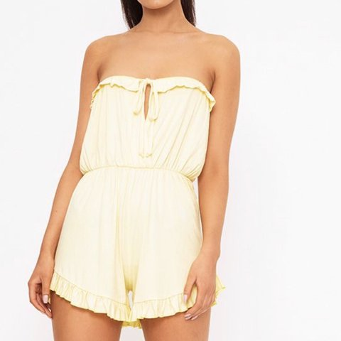 5bb380a1a96 Selling this lemon pretty little thing playsuit