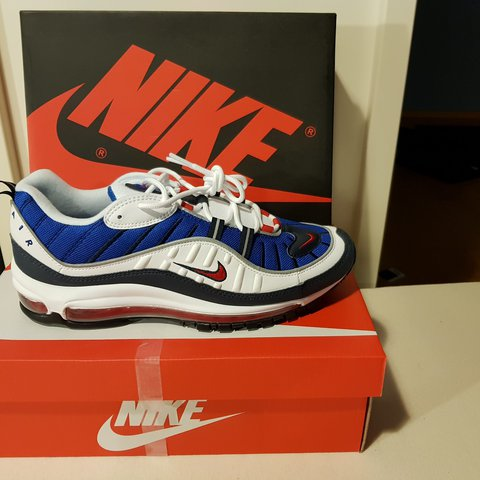 634a1e3c4fc Nike Air Max 98 OG Gundam Size 44 US10 UK9 Condition OG be a - Depop