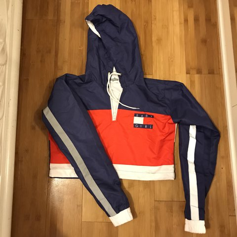 4e15a7dbe65 @samihau. last year. Queens County, United States. Baby Girl cropped  windbreaker. Super cute but doesn't fit me anymore