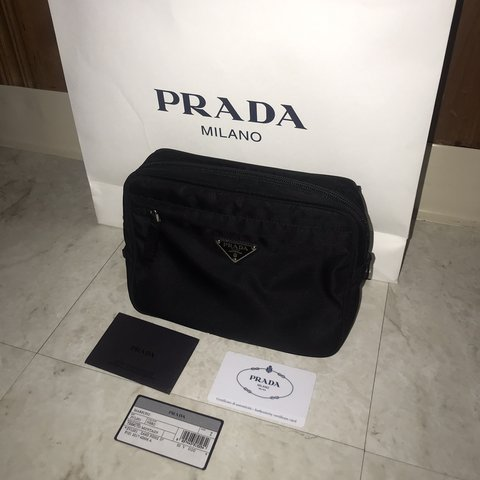 d490eae1a911 AUTHENTIC Prada Fanny pack   Waist Bag. NWT. - Depop