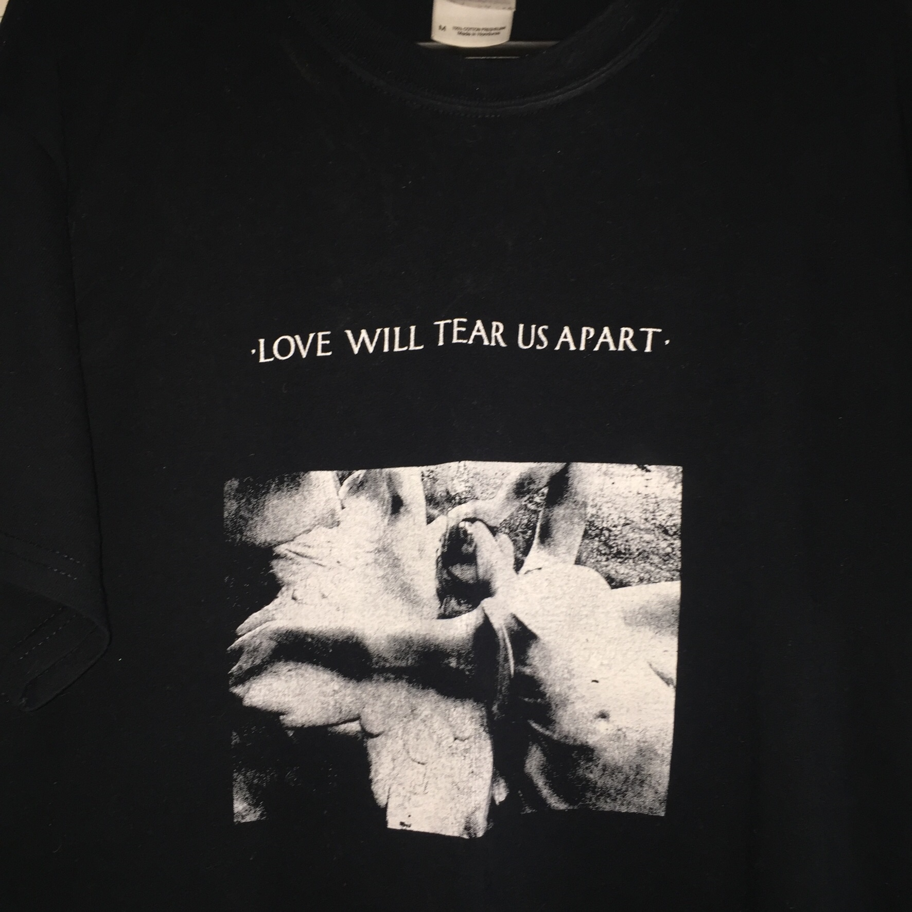 Joy Division Love Will Tear Us Apart Band Tshirt Depop