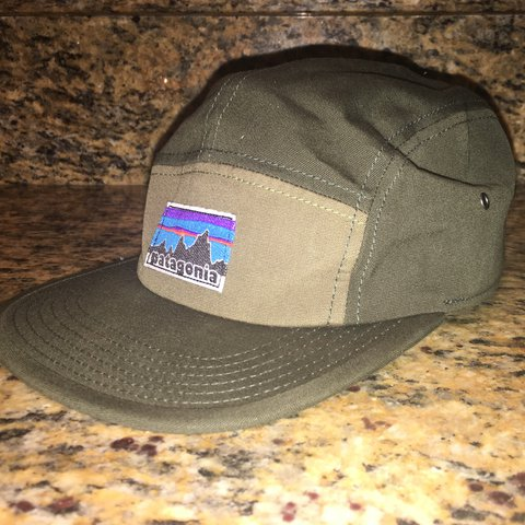 Patagonia 5 panel hat from urban outfitters. Never even worn - Depop a736232646af
