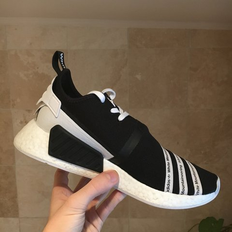 a388b13f8 Adidas NMD R2 x White Mountaineering - Size 8 - 9 10 worn a - Depop