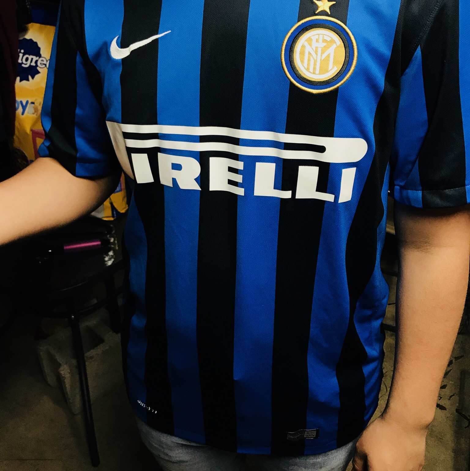 sports shoes e0727 73255 Inter Milan 😎 Authentic Jersey 😇 beautiful Jersey... - Depop