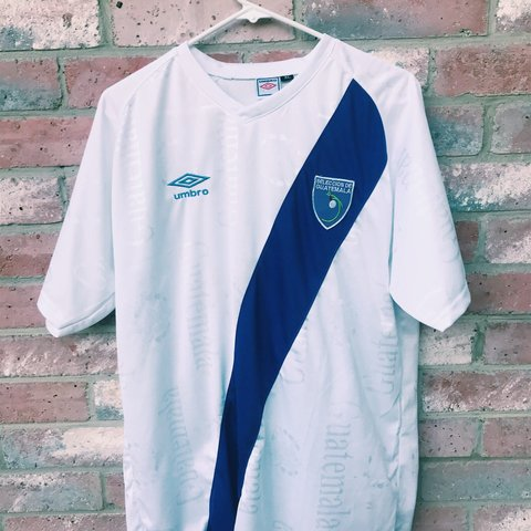 08c1a01a5 Official Umbro Guatemala National Soccer Team Jersey It s a - Depop