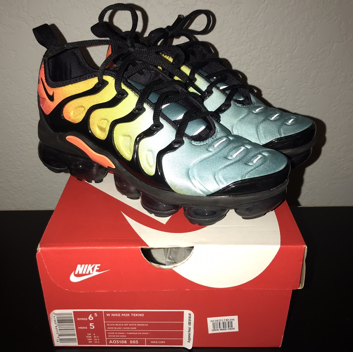official photos 3637b 7bd2f Nike Air Max Vapormax plus Rare color way and... - Depop
