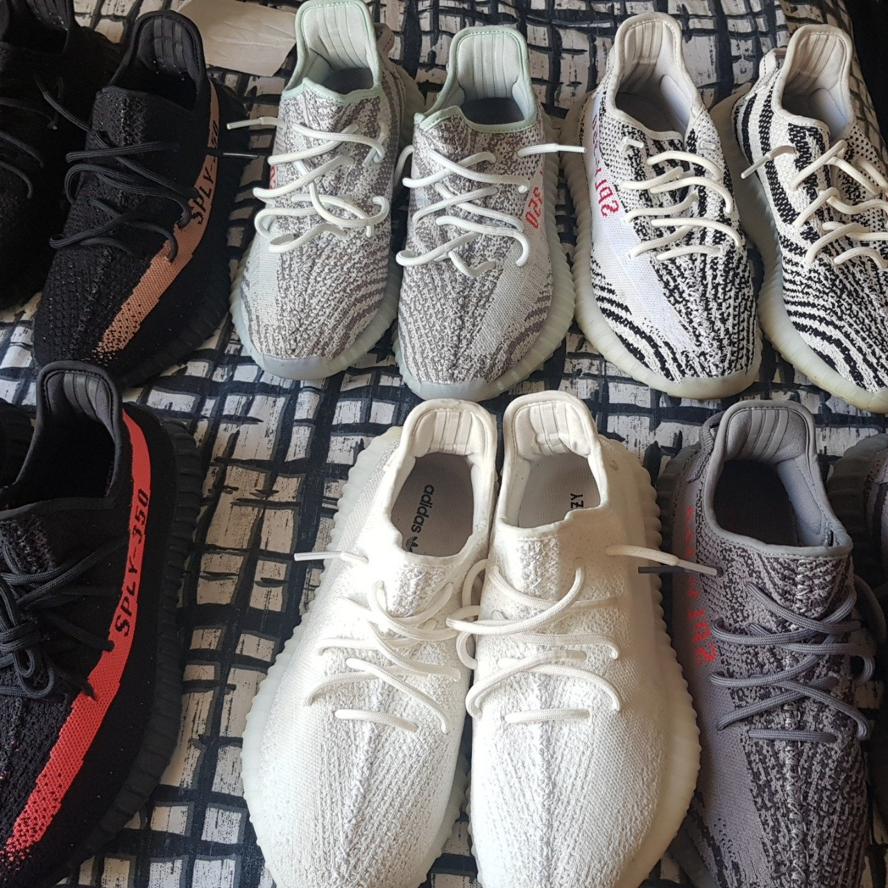 cdab40d7 Yeezy v2 collection for sale. Uk 9 Yeezy 350 boost red 8.5 9 - Depop